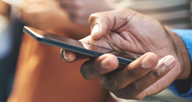 website management on mobile phone
