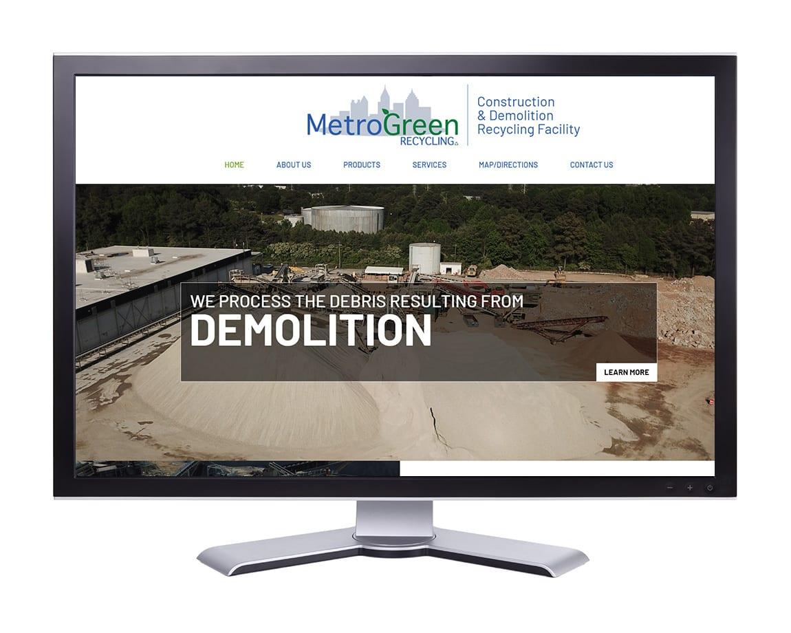 Metro Green Recycling. Atlanta, GA