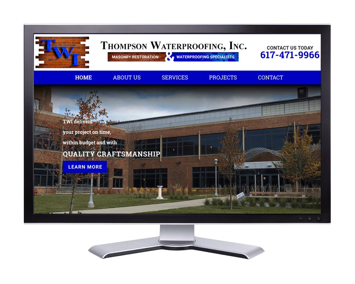 Thompson Waterproofing, Inc. Quincy, MA