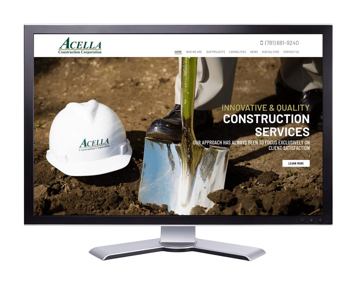 Acella Construction Corporation. Pembroke, MA