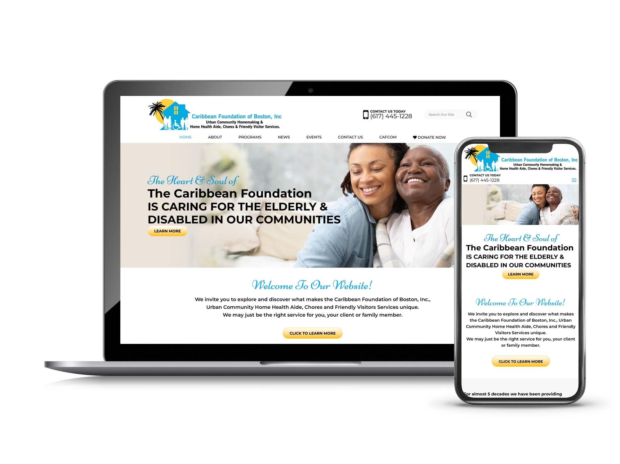 Small Business Web Design Portfolio Interactive Palette
