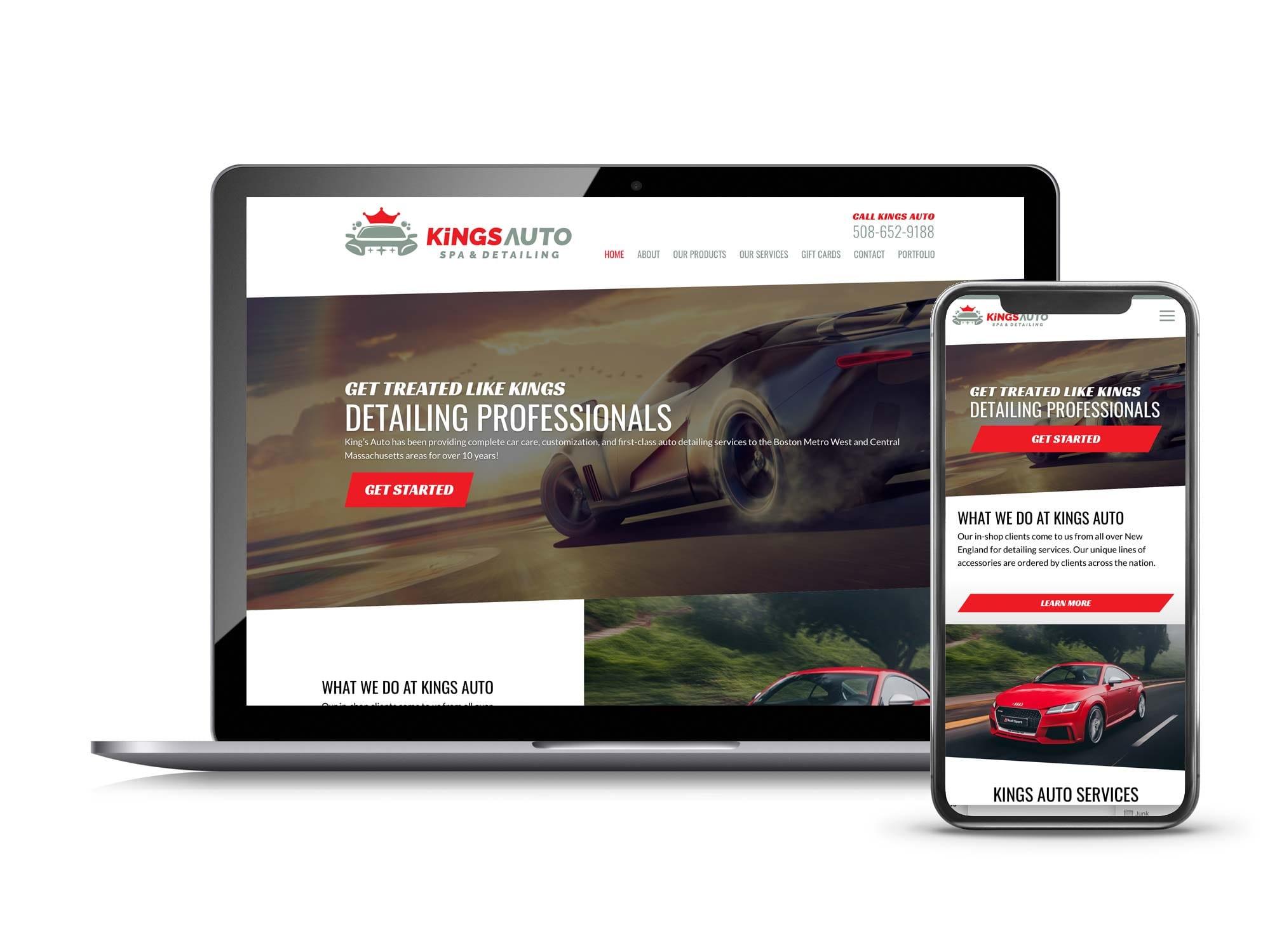 Kings Auto Spa & Detailing Natick, MA