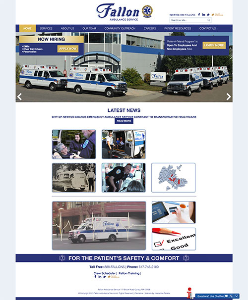 Fallon Ambulance Service - Quincy, MA