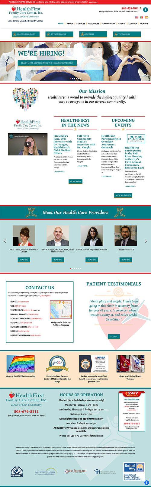 HealthFirst Family Care Center, Inc. - Fall River, MA