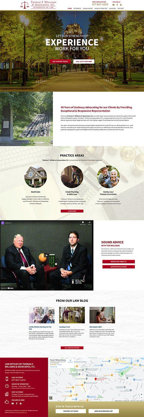 Thomas F. Williams & Associates P.C. - Quincy, MA