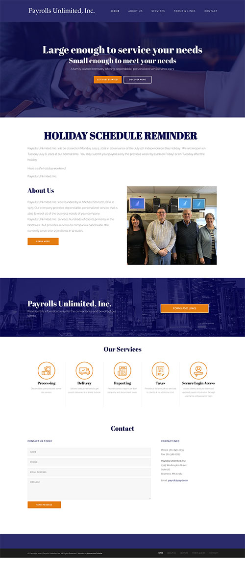 Payrolls Unlimited Inc. - Braintree, MA