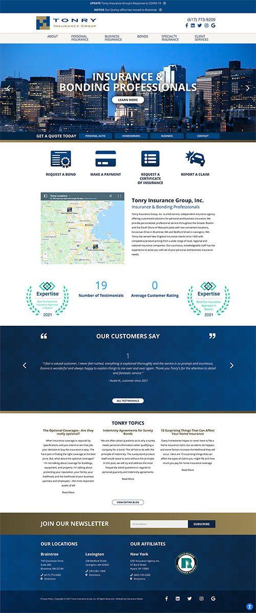 Tonry Insurance Group, Inc. - Quincy, MA