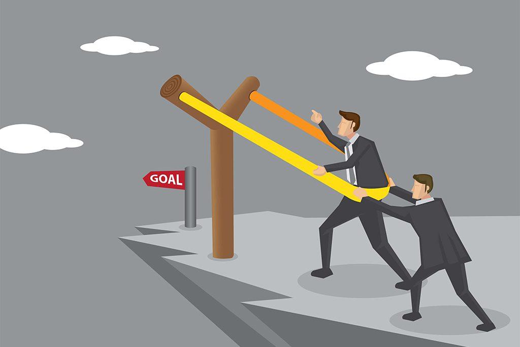 Slingshot Catapult to Business Goal